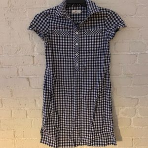 Vineyard vines gingham shirt dress
